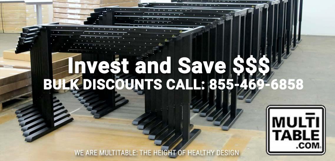 Standing Desk Discounts For Employers Buy Discount Standing Desks In Bulk MultiTable