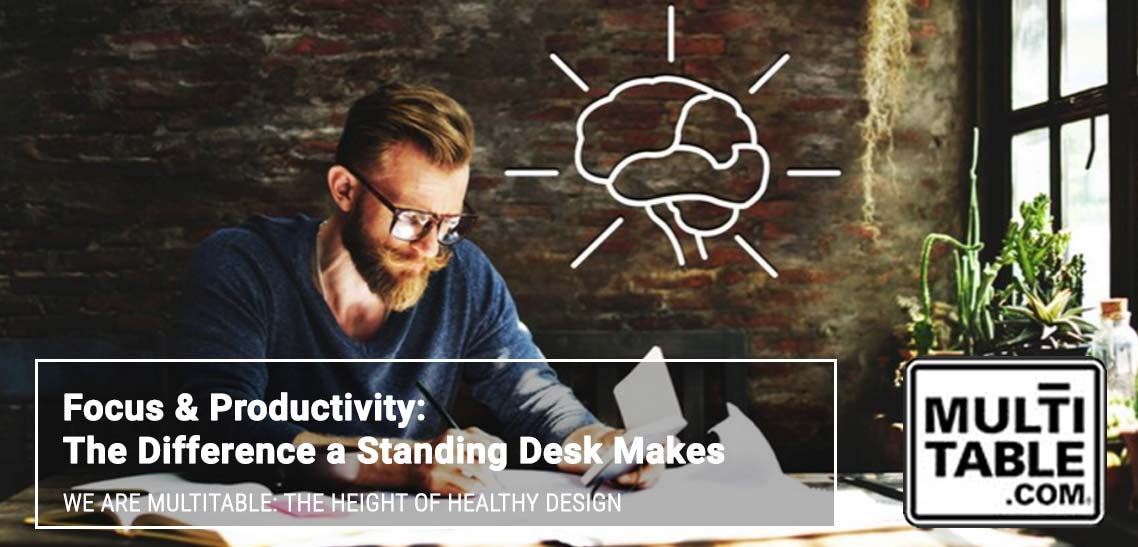 Focus & Productivity The Difference A Standing Desk Makes MultiTable