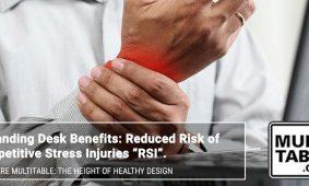 Standing Desk Benefits Reduced Risk Of RSI MultiTable