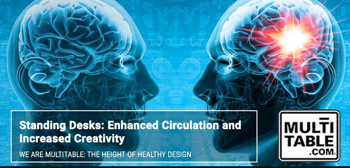 Standing Desks Enhanced Circulation And Mental Function MultiTable