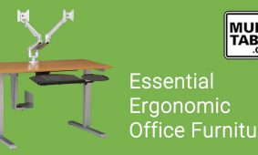 Essential Ergonomic Office Furniture MultiTable Standing Desk Experts