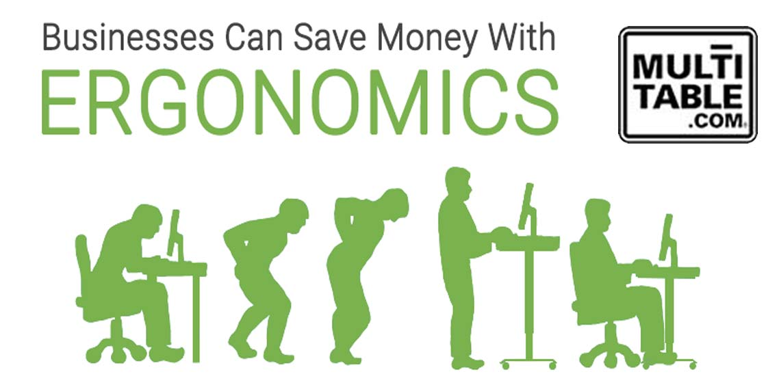 How A Business Can Save Money With Ergonomics MultiTable