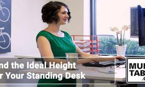 Find The Ideal Height For Your Standing Desk MultiTable