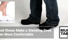 Good Shoes Make A Standing Desk Even More Comfortable MultiTable