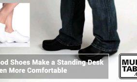 Good Shoes Make A Standing Desk Even More Comfortable MultiTable