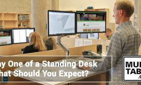 Day One Of A Standing Desk MultiTable