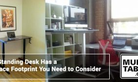A Standing Desk Has A Space Footprint You Need To Consider MultiTable