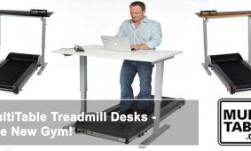MultiTable Treadmill Desks The New Gym