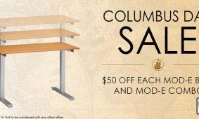 Standing Desk Sale October 2013 Columbus Day MultiTable