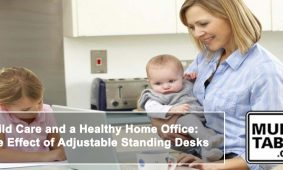 Adjustable Standing Desks Give You Flexibility To Care For A Newborn MultiTable