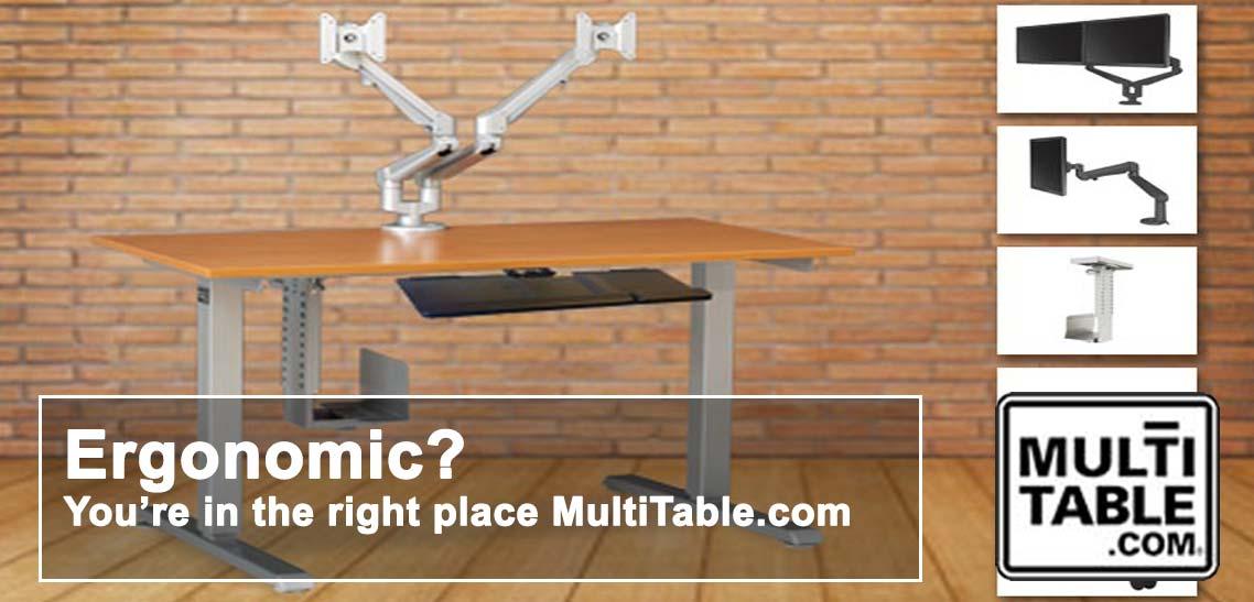 Build An Ergonomic Workspace Around Your Ergonomic Computer MultiTable