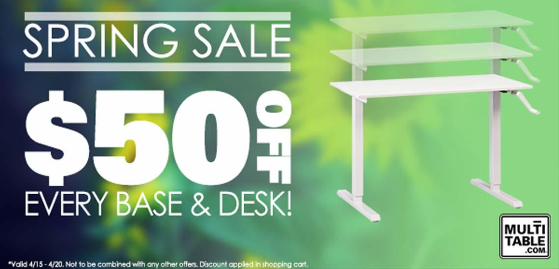 We Have Standing Desk Spring Fever Do You MultiTable