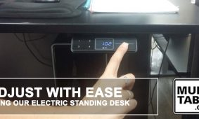 Adjust With Ease Using Our Electric Standing Desk MultiTable