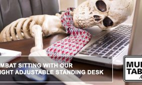Combat Sitting With Our Height Adjustable Standing Desk MultiTable