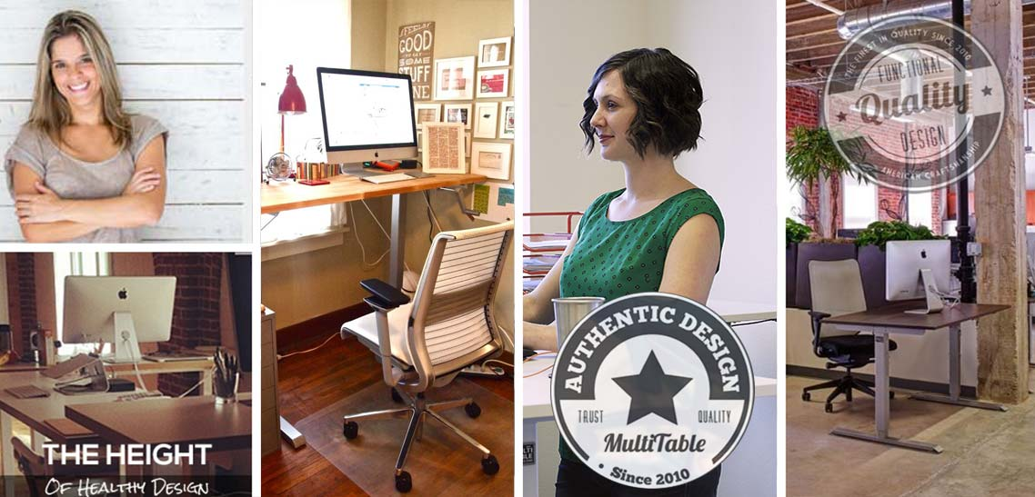 Make The Right Modification To Your Work Style MultiTable Standing Desk Benefits