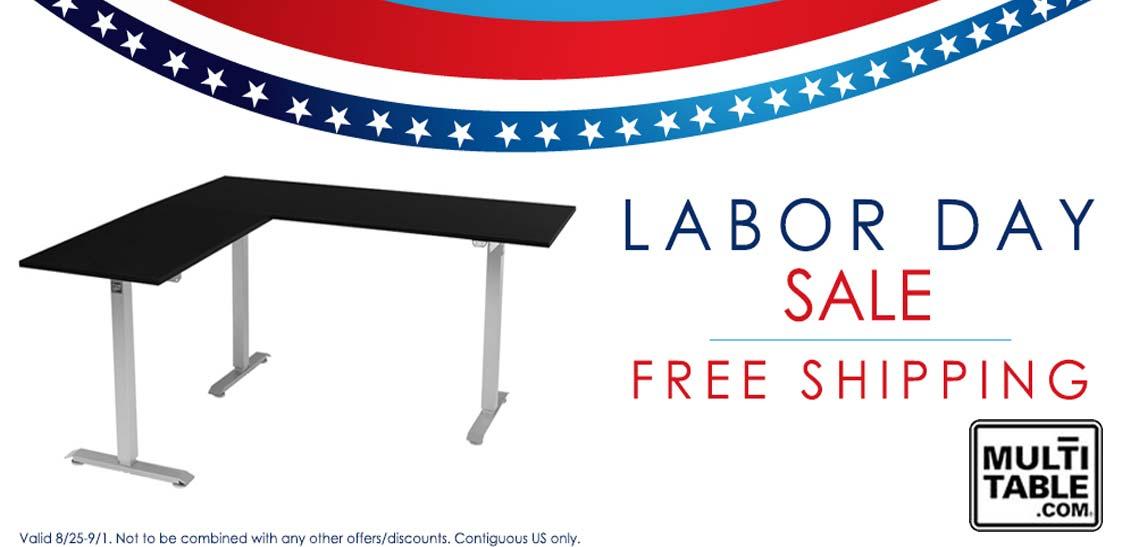 Standing Desk Labor Day Sale 2014 MultiTable Height Adjustable Desks