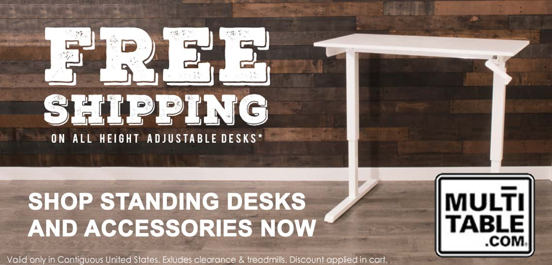 Standing Desk Free Shipping MultiTable
