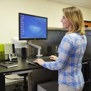 Electric Standing Desk Base Black Multitable 1