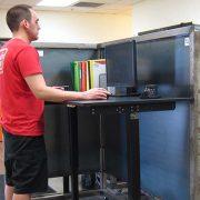 Electric Standing Desk Base Black Multitable 2