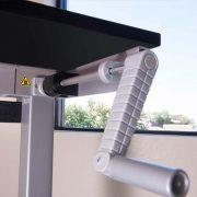 Manual Standing Desk Base Silver MultiTable 3