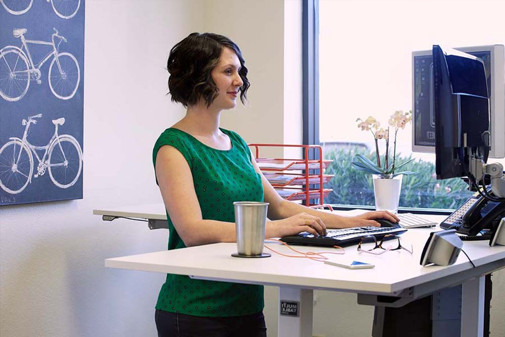 Standing Desk Adjustable Height Desk MultiTable Gallery 1