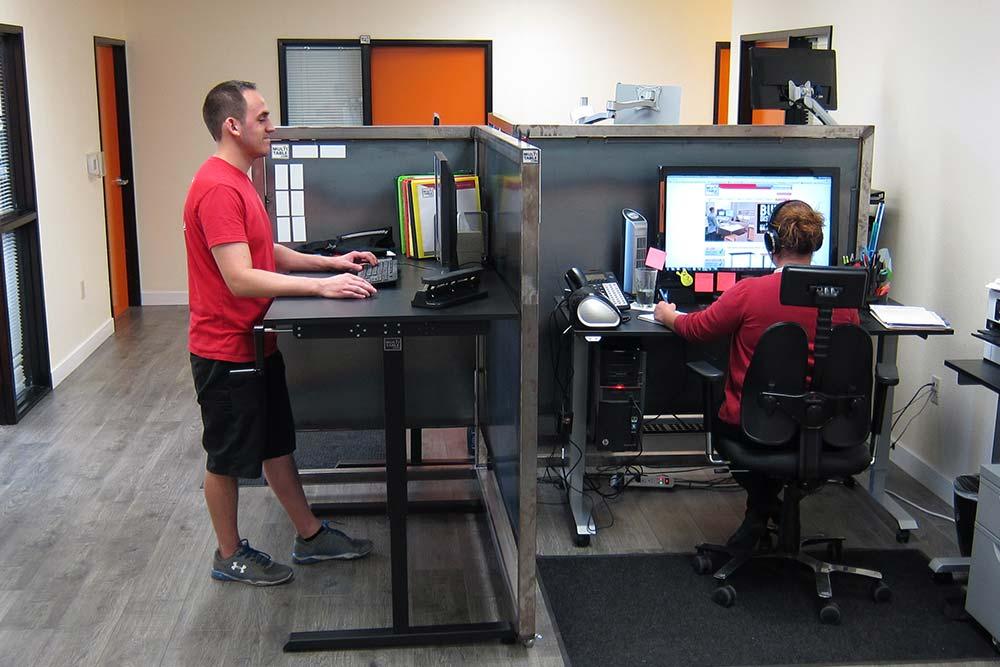 Standing Desk Adjustable Height Desk MultiTable Gallery 23