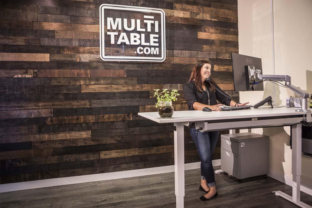 Standing Desk Adjustable Height Desk MultiTable Gallery 24