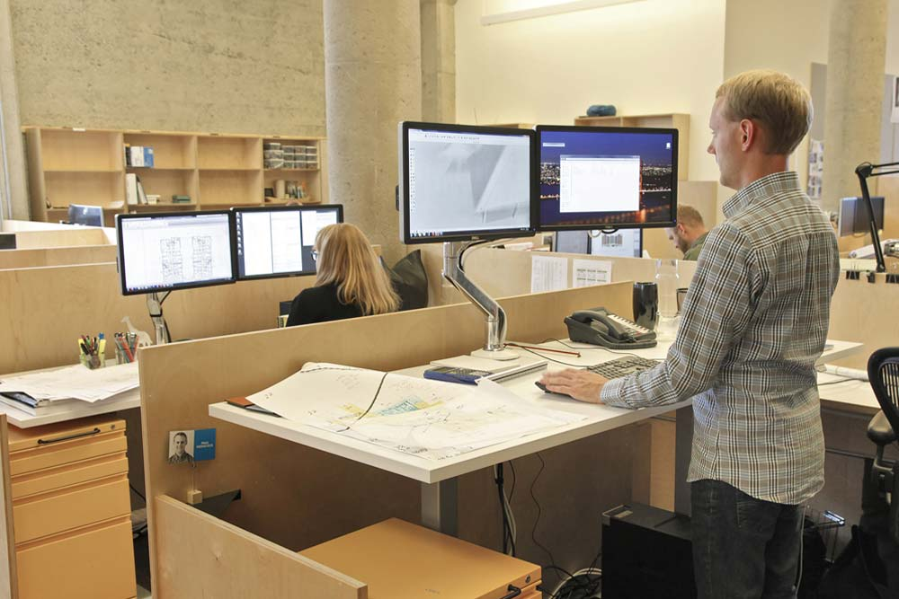 Standing Desk Adjustable Height Desk MultiTable Gallery 3