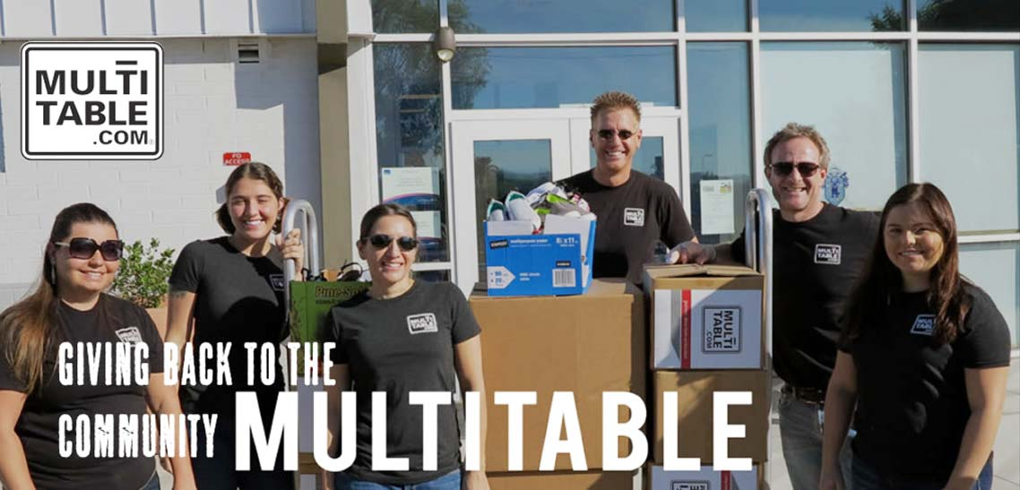 MultiTable Giving Back To The Community