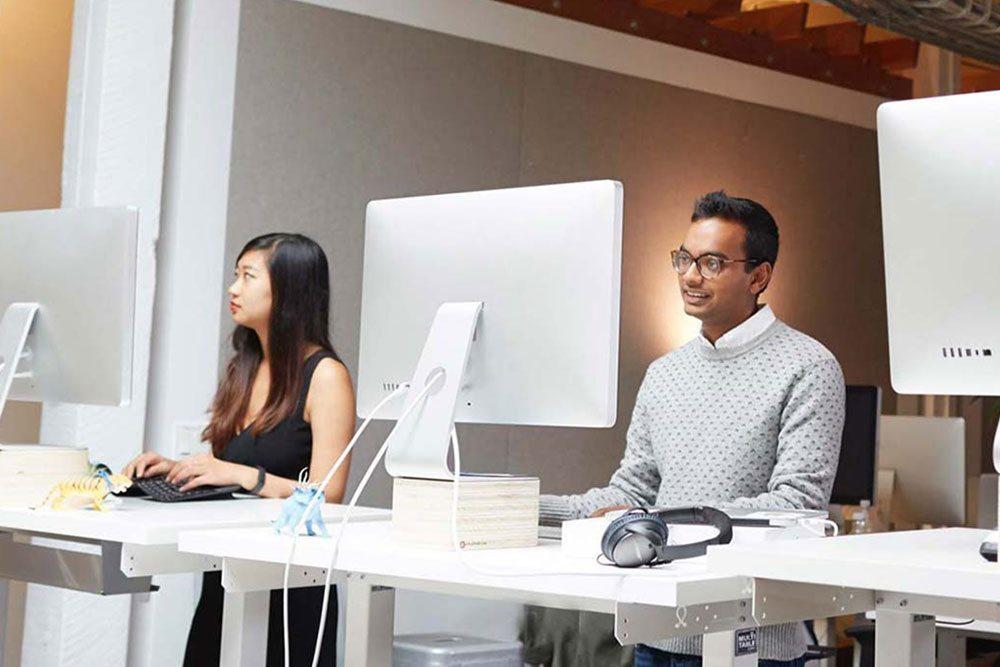 Height Adjustable Sit Stand Desk Benefits MultiTable