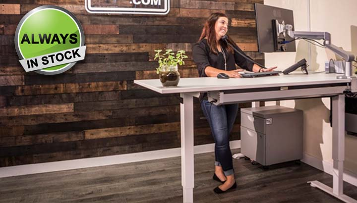 Standing Desk Electric Height Adjustable Office Desk MultiTable 1