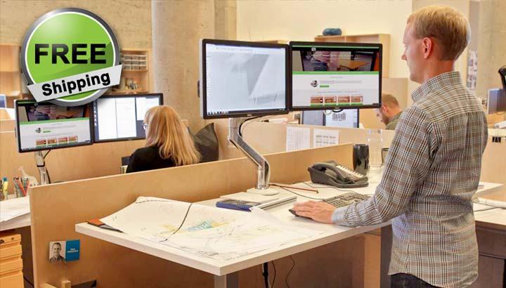 Standing Desk Electric Height Adjustable Office Desk MultiTable 4