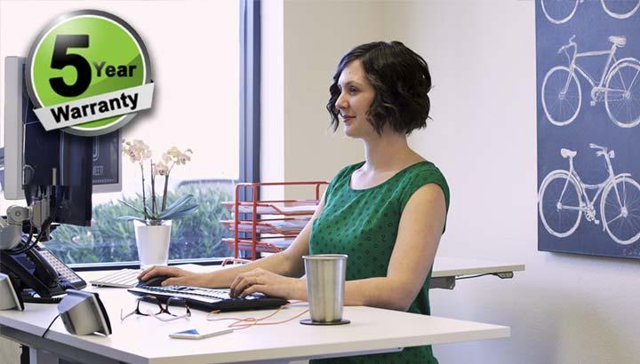 Standing Desk Electric L Shape Height Adjustable Office Desk MultiTable 2