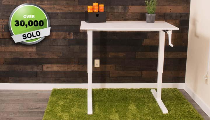 Standing Desk Manual Height Adjustable Office Desk MultiTable 1