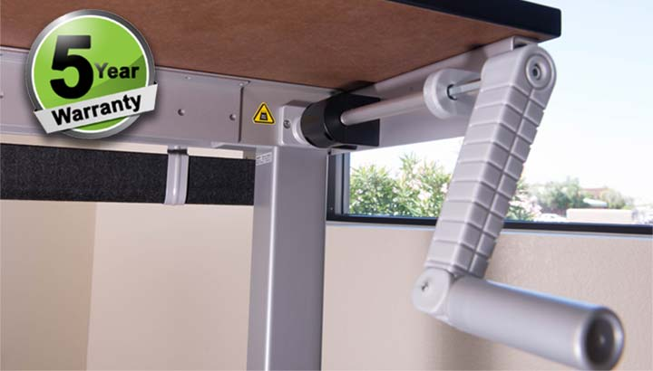 Standing Desk Manual Height Adjustable Office Desk MultiTable 3