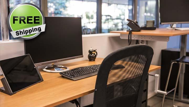 Standing Desk Manual Height Adjustable Office Desk MultiTable 5