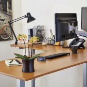 Electric L Shaped Standing Desk Multitable 1