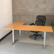 Electric L Shaped Standing Desk Multitable 2