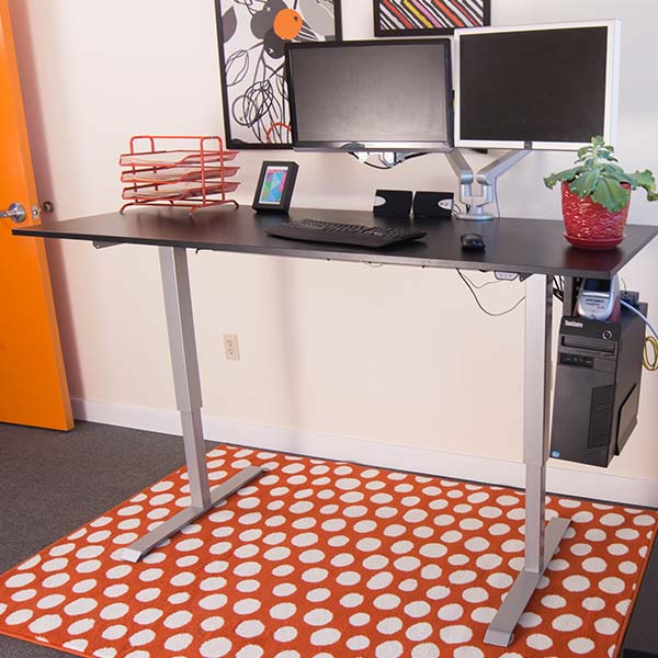 Electric Standing Desk Base Silver Multitable 4