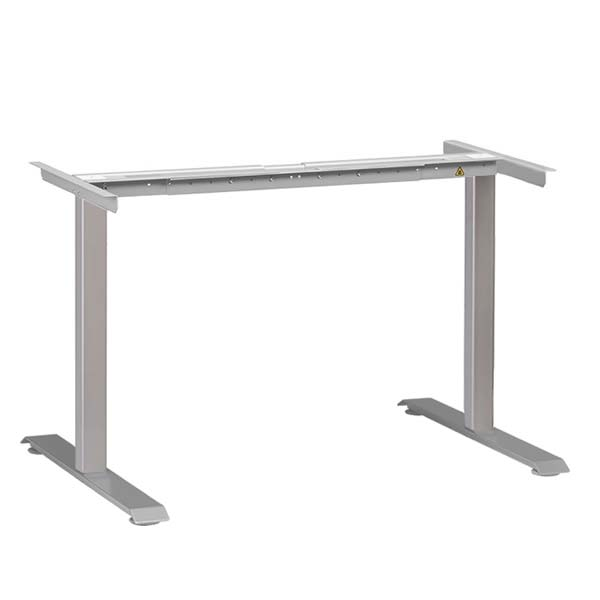 Electric Standing Desk Base Silver Multitable
