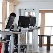 Electric Standing Desk Base White Multitable 3