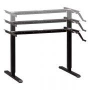 Manual Standing Desk Base Black Multitable 2