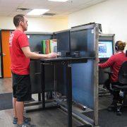 Manual Standing Desk Base Black Multitable 3
