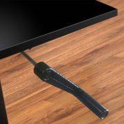 Manual Standing Desk Base Black Multitable 4