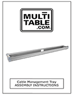 Small Cable Management Tray Assembly