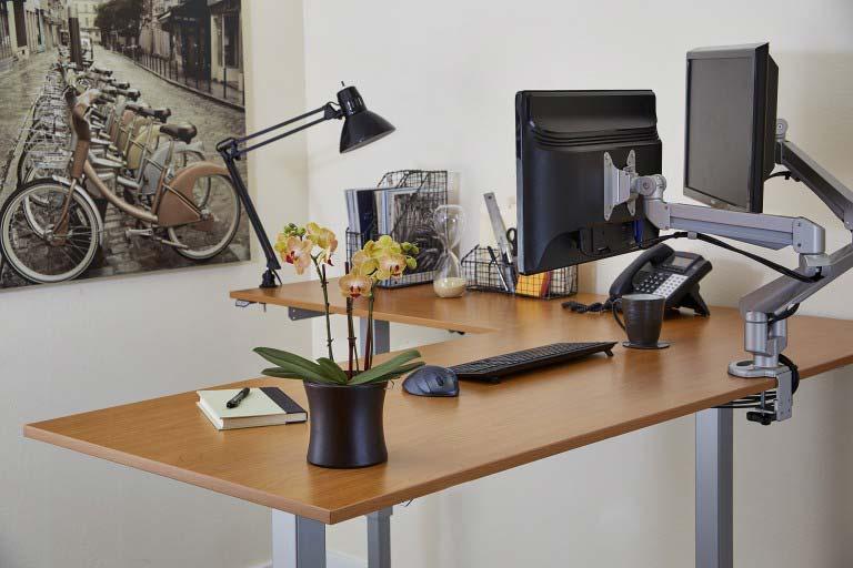 Standing L Shaped Desk Desk Design Ideas