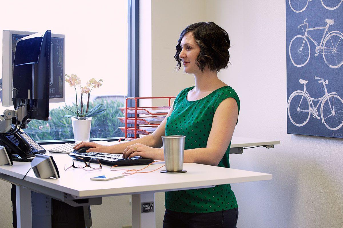 Best Height Adjustable Standing Desk MultiTable