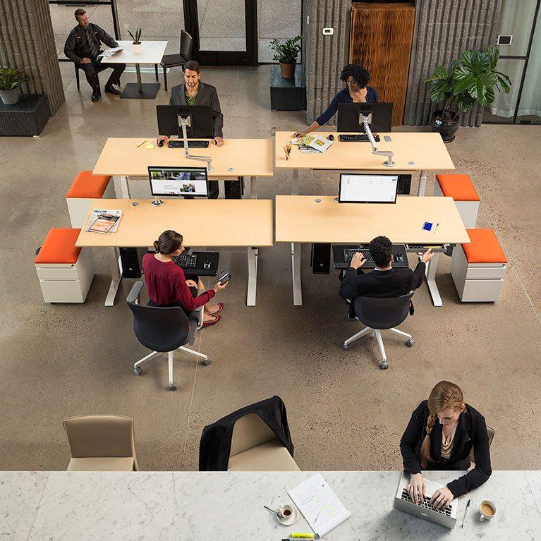 Standing Desk Corporate Bulk Discount MultiTable