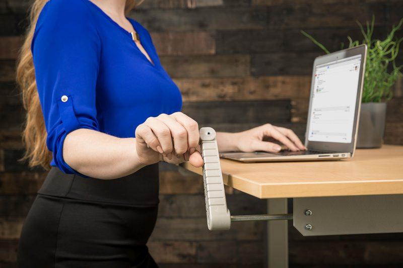 Hand Crank Height Adjustable Standing Desk Handle