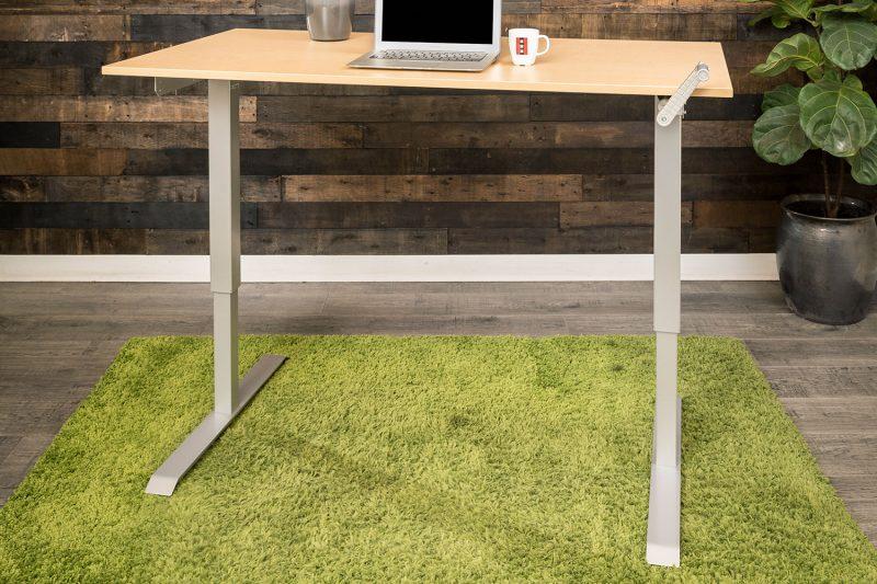 Hand Crank Manual Height Adjustable Standing Desk MultiTable